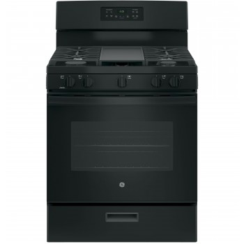 GE 5 BURNER GAS RANGE
