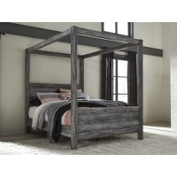 Baystorm - Gray - Queen Canopy Bed