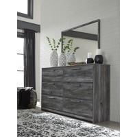 Baystorm - Gray - Dresser & Mirror