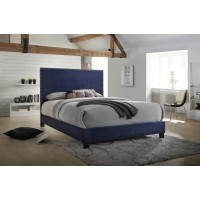 Delora Blue Queen Bed