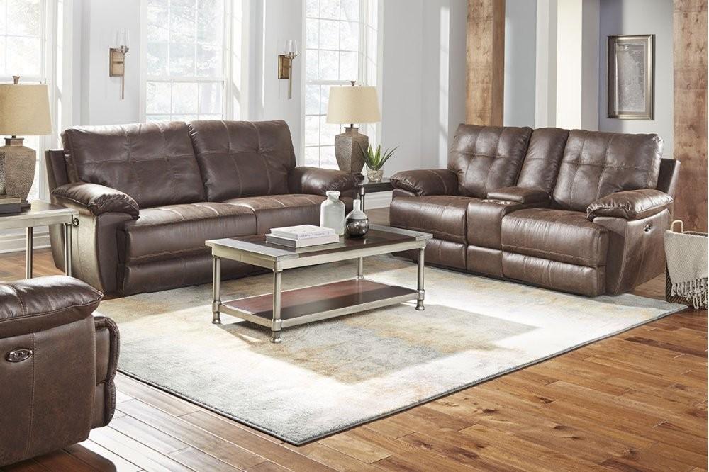 Brown Power Motion Sofa 4147591 Reclining Power Sofa