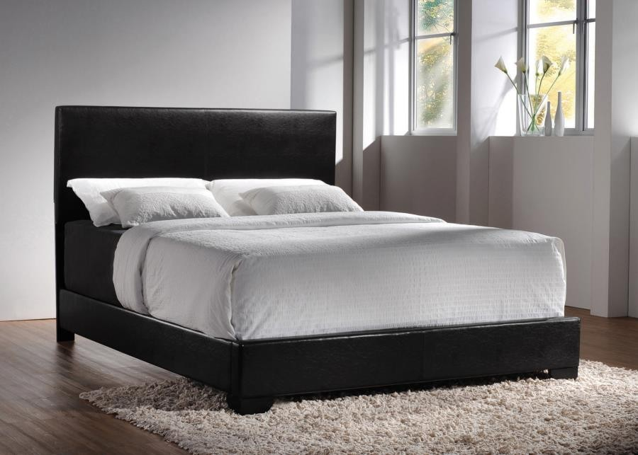 CONNER UPHOLSTERED BED - QUEEN BED
