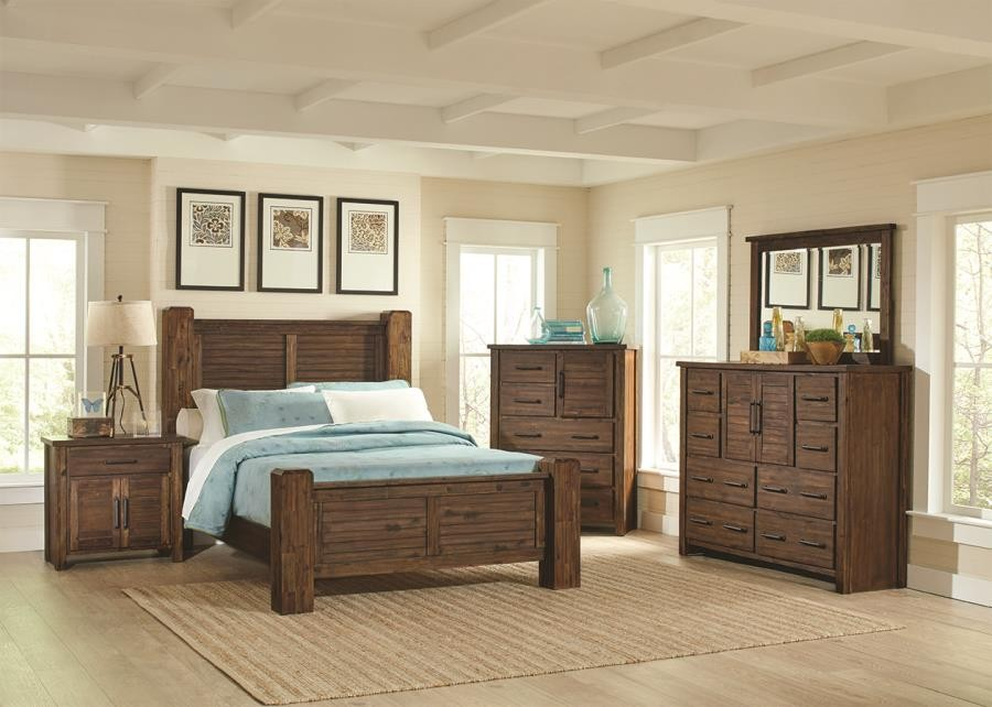 Sutter Creek Rustic Vintage Bourbon Eastern King Bed 204531ke Complete Bed Sets Price Busters Furniture