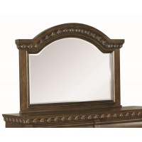 Satterfield Traditional Warm Bourbon Dresser Mirror