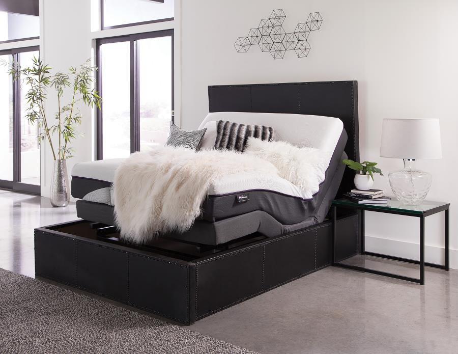 Adjustable Bed Base >> Montclair Casual Black Twin Xl Adjustable Bed Base
