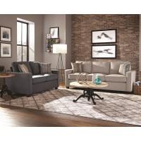 Brownswood Light Grey Three-Piece Living Room Set