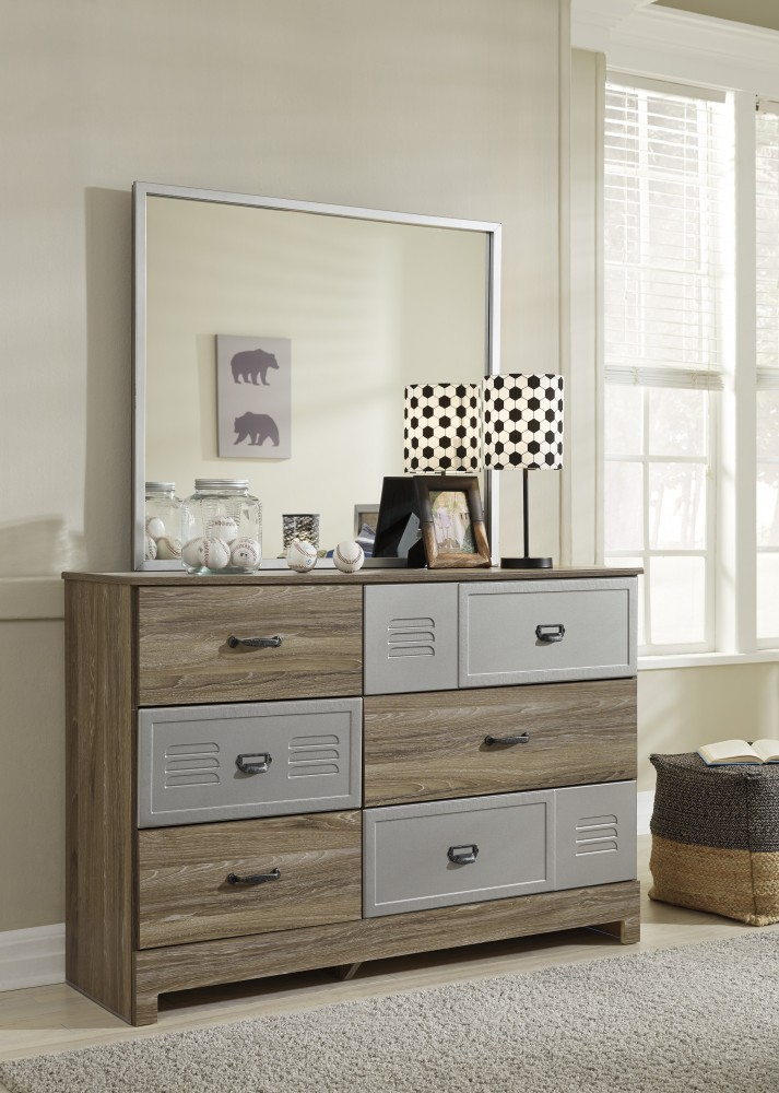 McKeeth - Gray - Dresser & Mirror