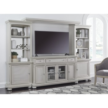 Coralayne - Silver - Home Entertainment Center