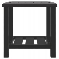 Castle Island - Dark Brown - Square End Table