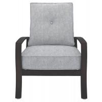 Castle Island - Dark Brown - Lounge Chair w/Cushion (1/CN)