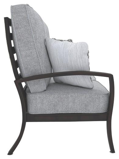 Castle Island - Dark Brown - Sofa with Cushion