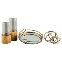 Deserae - Antique Gold Finish - Accessory Set (5/CN)