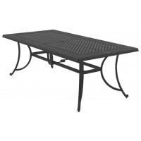 Burnella - Brown - Rectangular Dining Table