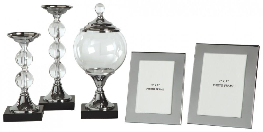 Diella - Silver Finish - Accessory Set (5/CN)