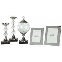 Diella - Silver Finish - Accessory Set (5/CN)