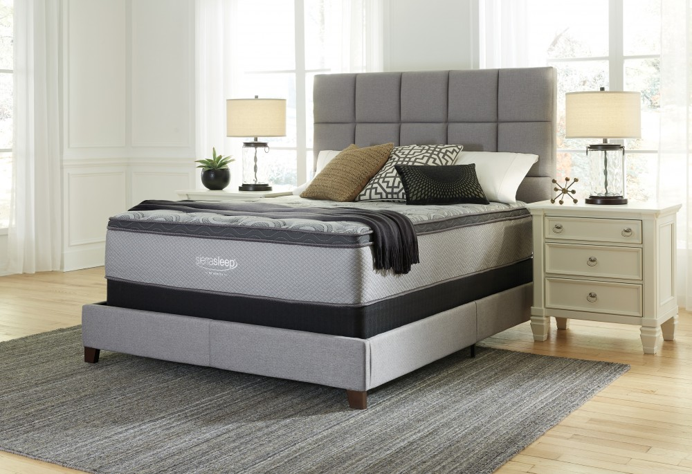Charmant Augusta   White   King Mattress