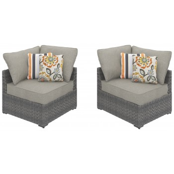Spring Dew Corner Chair with Cushion (Set of 2)
