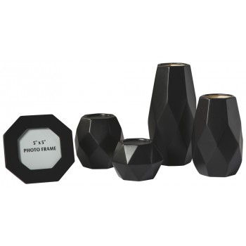 Donatella - Black - Accessory Set (5/CN)