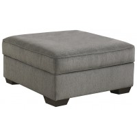Loric - Smoke - Ottoman With Storage