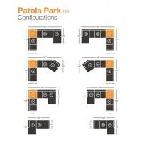 Patola Park Wedge