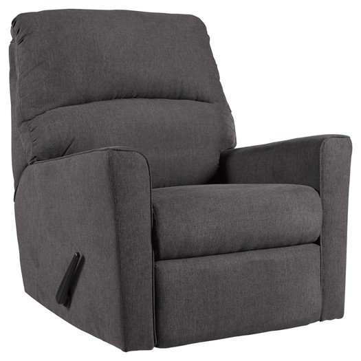 Alenya - Charcoal - Rocker Recliner