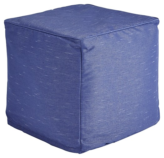 Phenomenal Catalina Dark Blue Pouf Caraccident5 Cool Chair Designs And Ideas Caraccident5Info