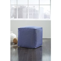 Catalina - Dark Blue - Pouf