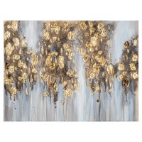Donier - Blue/Gold Finish - Wall Art