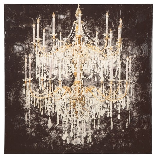Donda - Black/White/Gold Finish - Wall Art