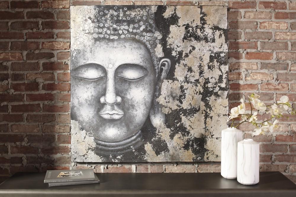 Donar - Black/Silver Finish - Wall Art
