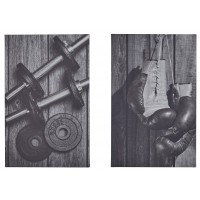 Dominy - Black/White - Wall Art Set (2/CN)