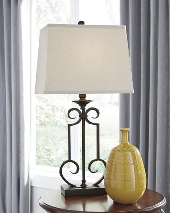 Ainslie - Bronze - Metal Table Lamp (2/CN)