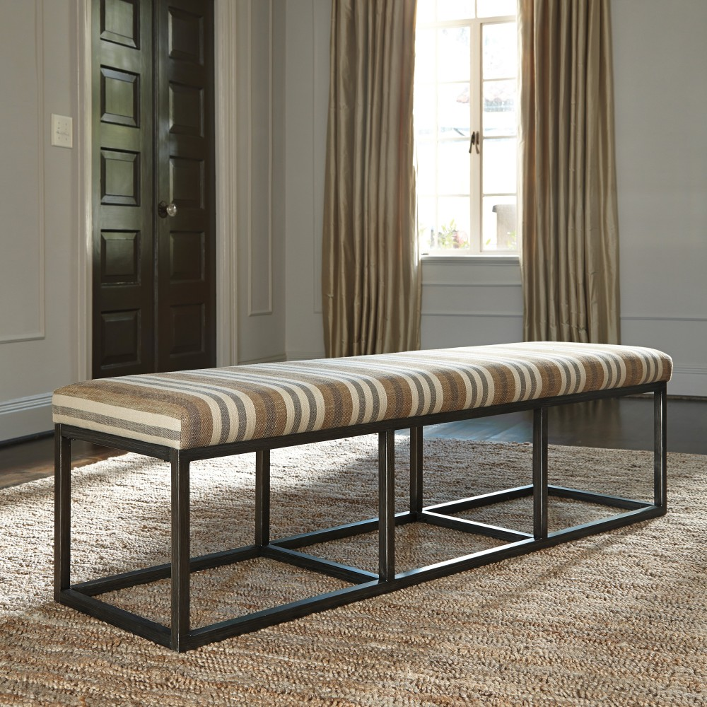 Strumfeld - Rustic Brown - Large UPH Dining Room Bench