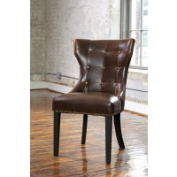 Wesling - Two-tone - Upholstered Side Chair (2/CN)