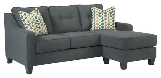 Shayla   Dark Gray   Sofa Chaise
