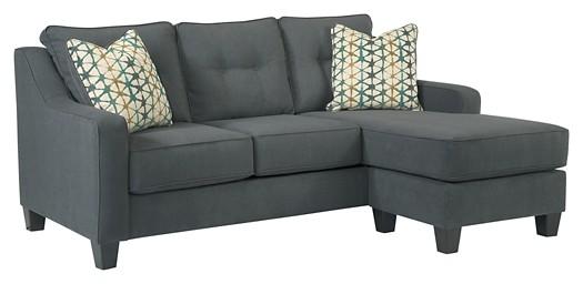 Shayla - Dark Gray - Sofa Chaise
