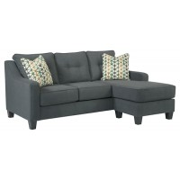 Shayla - Dark Gray - Sofa Chaise
