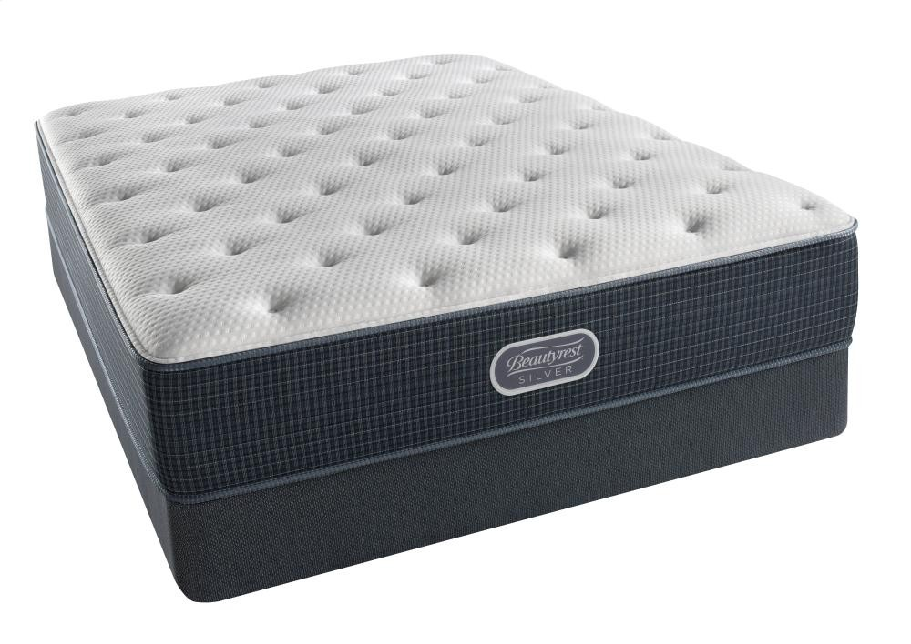 Beautyrest Silver Courtyard Blue Tight Top Plush King