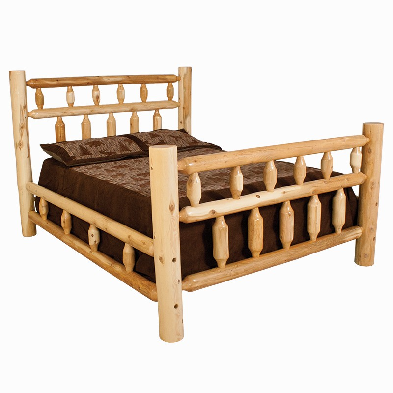 White Cedar Tall Full Size Bed W244 Beds Factory Furniture