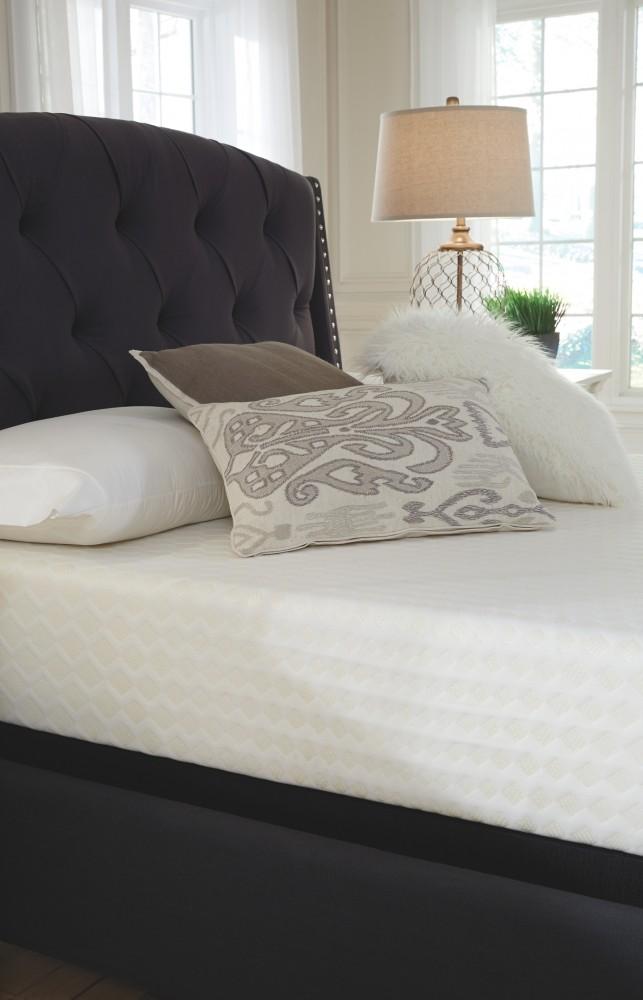 10 inch chime memory foam white full mattress m69921 memory foam mattresses limerick. Black Bedroom Furniture Sets. Home Design Ideas