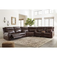 Wyline - Coffee 3 Pc Power Reclining Sectional