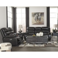 Pillement - Metal - Power Reclining Sofa & Loveseat