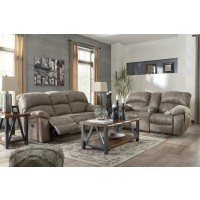 Dunwell - Driftwood - Power Reclining Sofa & Loveseat