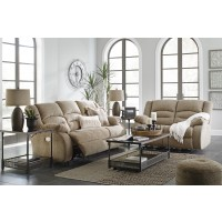 Labarre - Mocha - Power Reclining Sofa & Loveseat