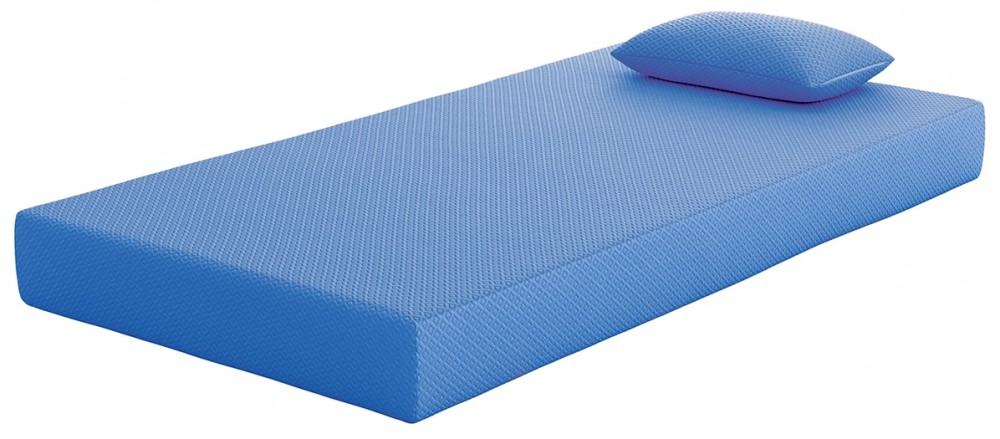 iKidz Blue - Blue - Twin Mattress and Pillow 2/CN