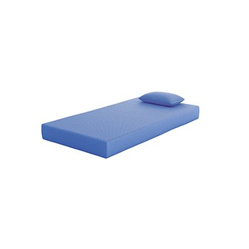 Ikidz Blue Blue Twin Mattress And Pillow 2 Cn M72111 Memory