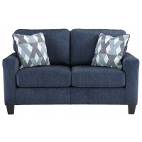 Burgos - Navy - Loveseat