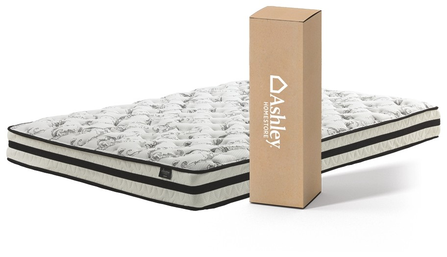 8 Inch Chime Innerspring - White - Queen Mattress