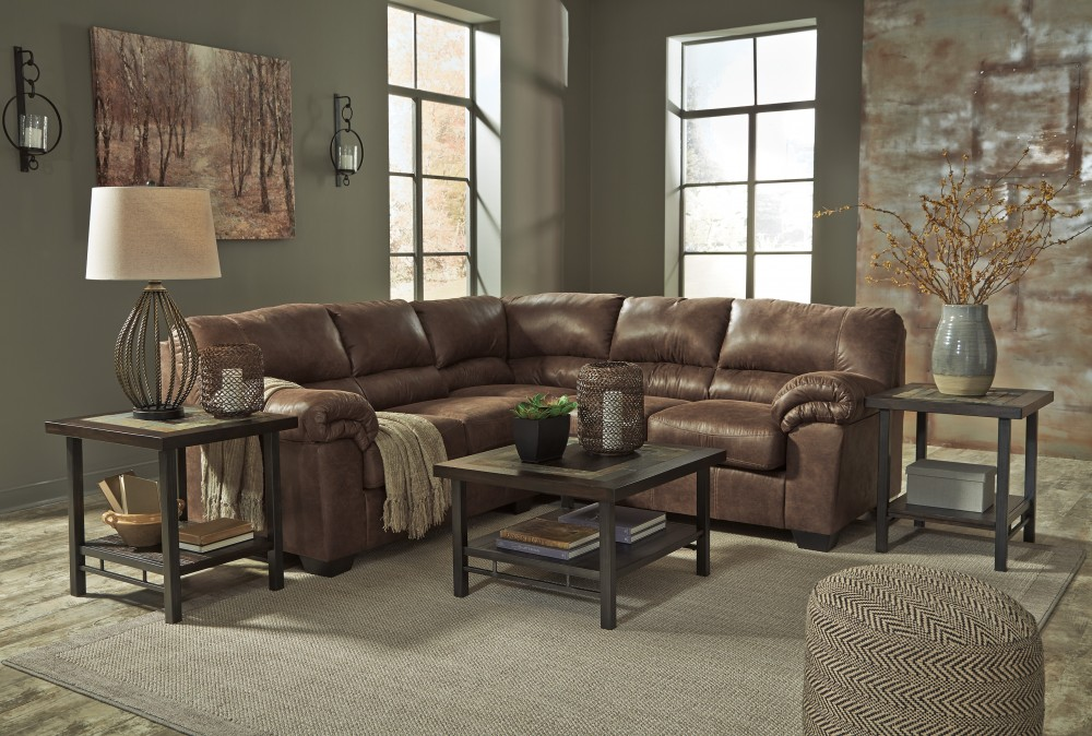 Swell Bladen Coffee 2 Pc Laf Loveseat Sectional Cjindustries Chair Design For Home Cjindustriesco