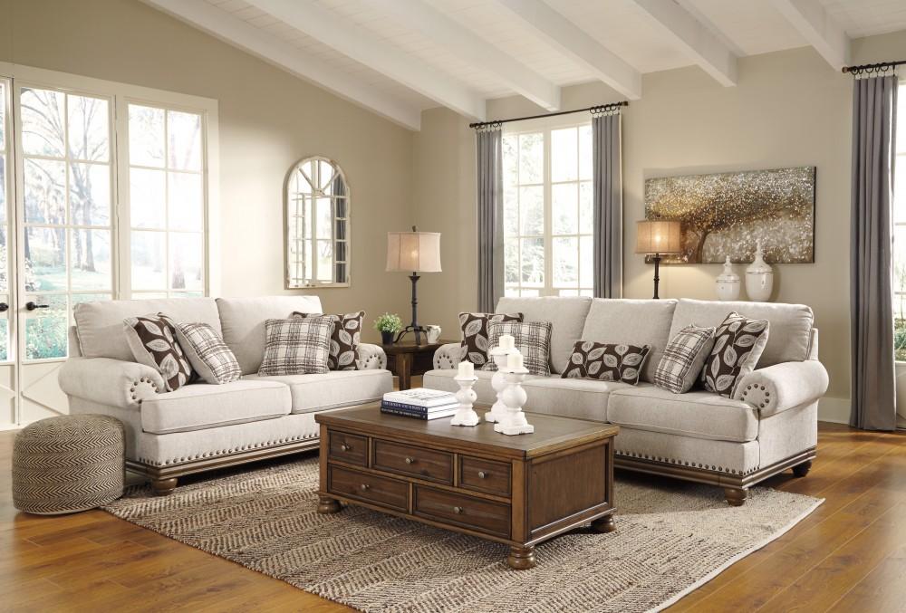 Sensational Harleson Wheat Sofa Loveseat Machost Co Dining Chair Design Ideas Machostcouk